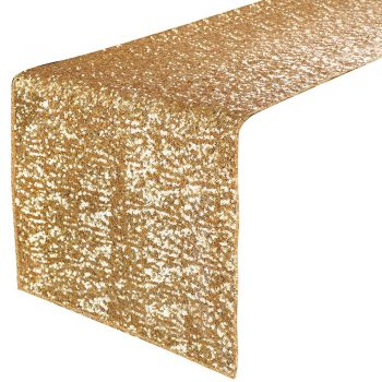 Gold Sequin Runner 1