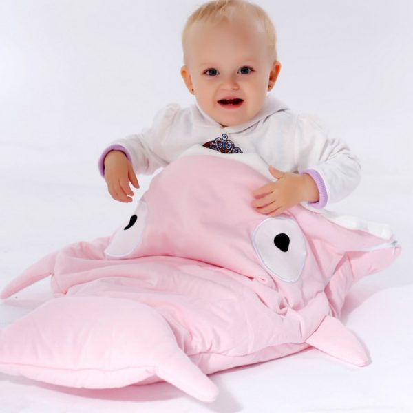 Whale Blanket Pink