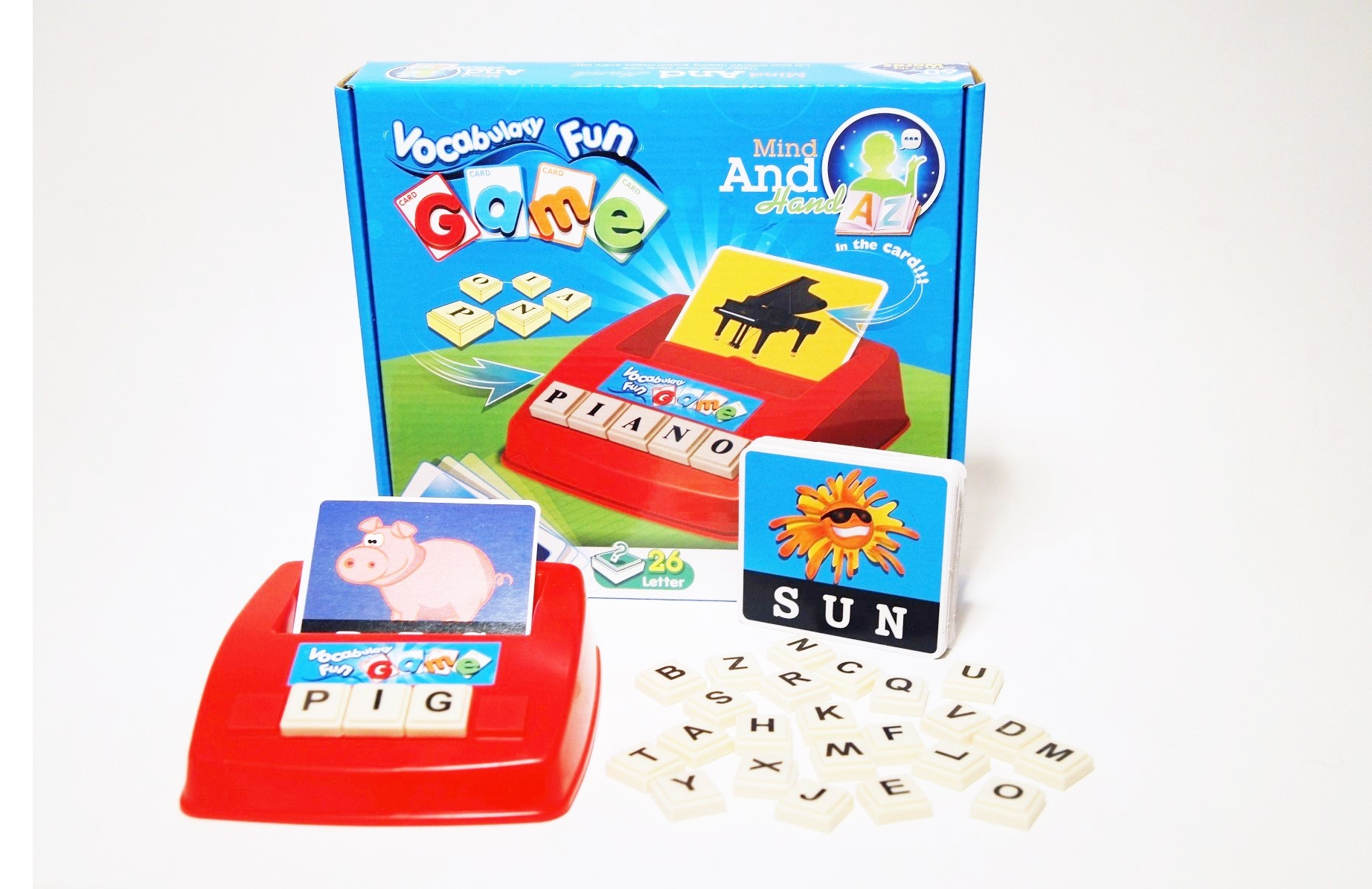 Toy Vocabulary Game : Vocabulary fun spelling game fab findz
