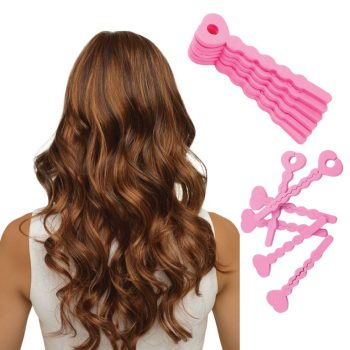 Soft Spiral Lock Hair Curlers